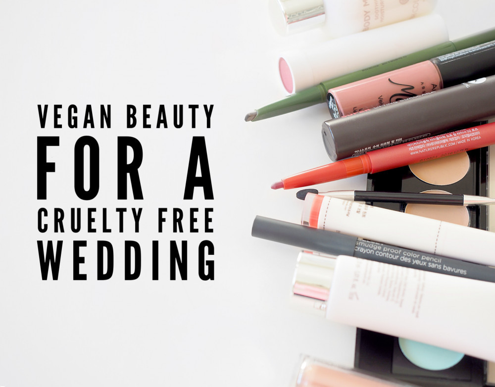Vegan and cruelty free makeup for brides - Image courtesy of Unsplash