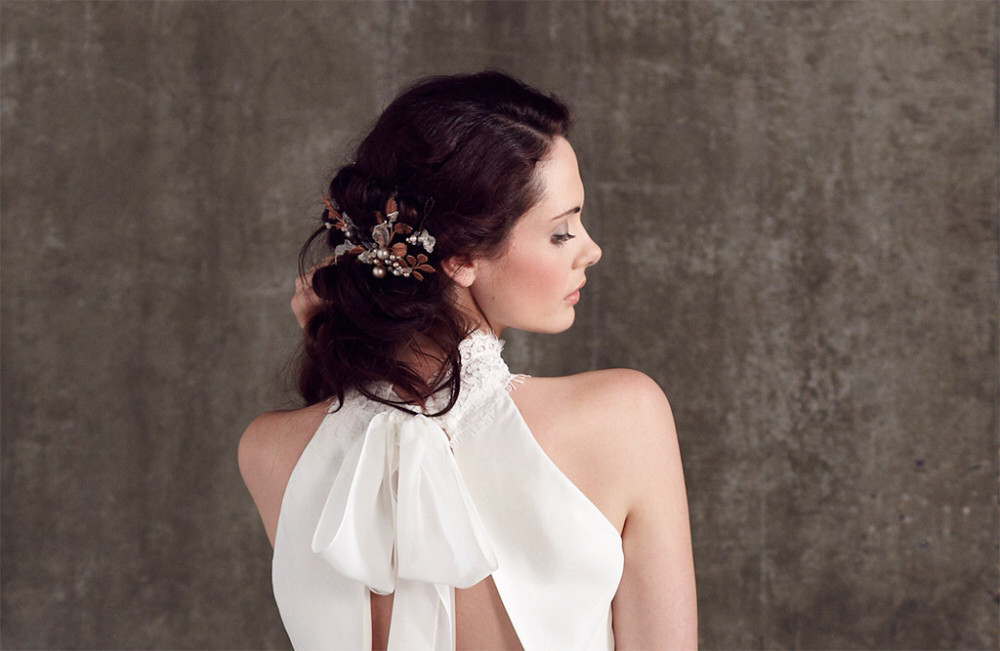 Soft elegant low bun - Hair & Makeup by Catherine Bailey - Photography by Alice Whitby #weddinghairstyle #eleganthair #softlowbun