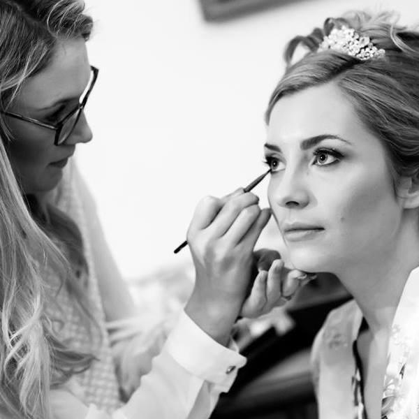 - Make Me Bridal Artist: Brittany Jae Hair & Makeup.