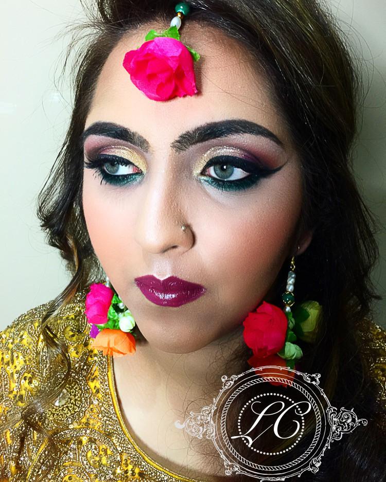 Asian Bride Glam - Make Me Bridal Artist: Laura Cotterill Makeup Artist.