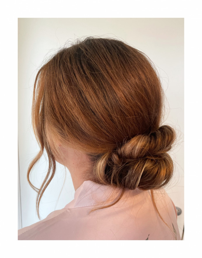 - Make Me Bridal Artist: Glow-Occasion Hair Specialists. #bridalhair #hairup #messybun #lowbun