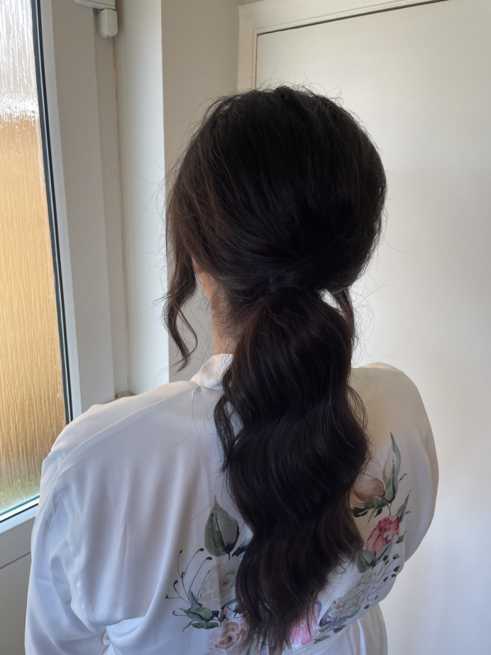 - Make Me Bridal Artist: Glow-Occasion Hair Specialists. #hairup #bridesmaidhair #ponytail