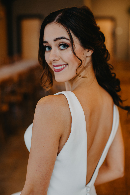 - Make Me Bridal Artist: Head Turners - Martine Turner. Photography by: Sammy Taylor. #halfuphair #bridalmakeup #braidedupdo #fishtailbraid #bridalhairstylist #perfectmakeup #makeup #flawlessmakeup #glambride #glamorous #weddinghair #weddingmakeup #halfuphalfdown #bridalhairandmakeup #mermaidbraid #brunettebride