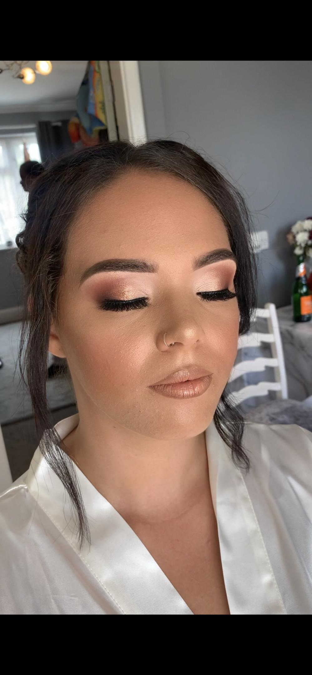 Glam bridal - Make Me Bridal Artist: Katy makeup artistry. Photography by: Katy swann. #glamorous