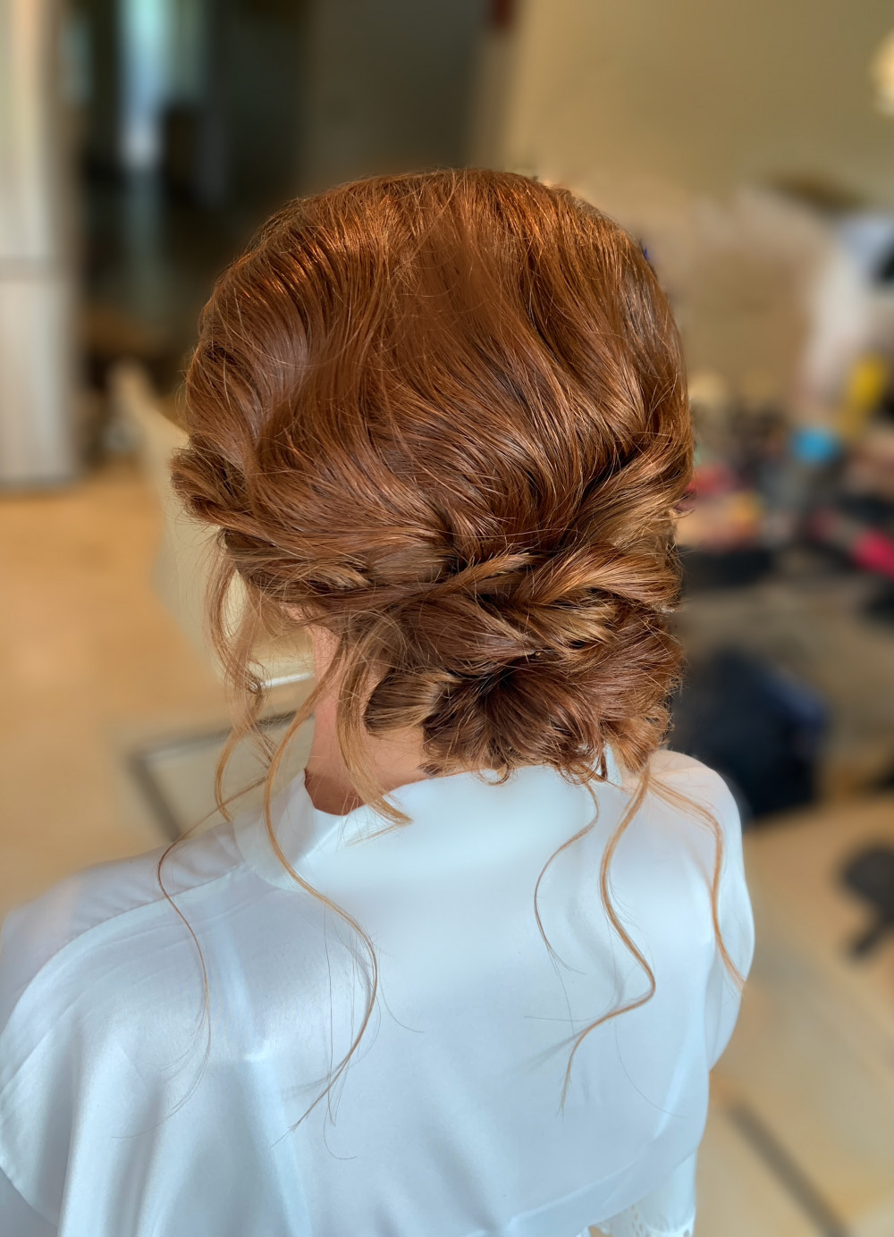 - Make Me Bridal Artist: Makeup by Corrina. #hairup #bohobride #bridalhair