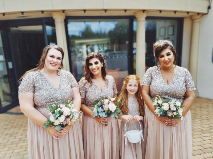 - Make Me Bridal Artist: Victoria Louise Bridal Hair. #bridesmaidhair #bridalsquad