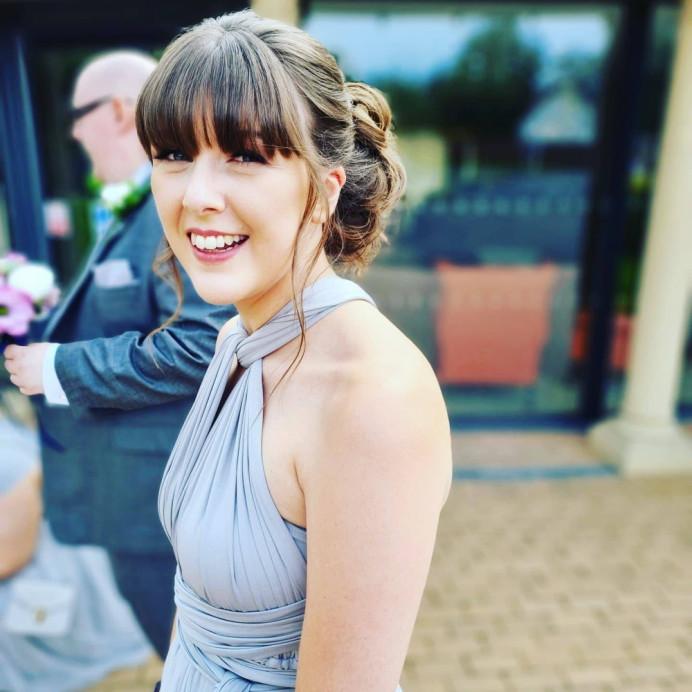 - Make Me Bridal Artist: Victoria Louise Bridal Hair. #bohemian #boho #bridesmaid #bridesmaidhair