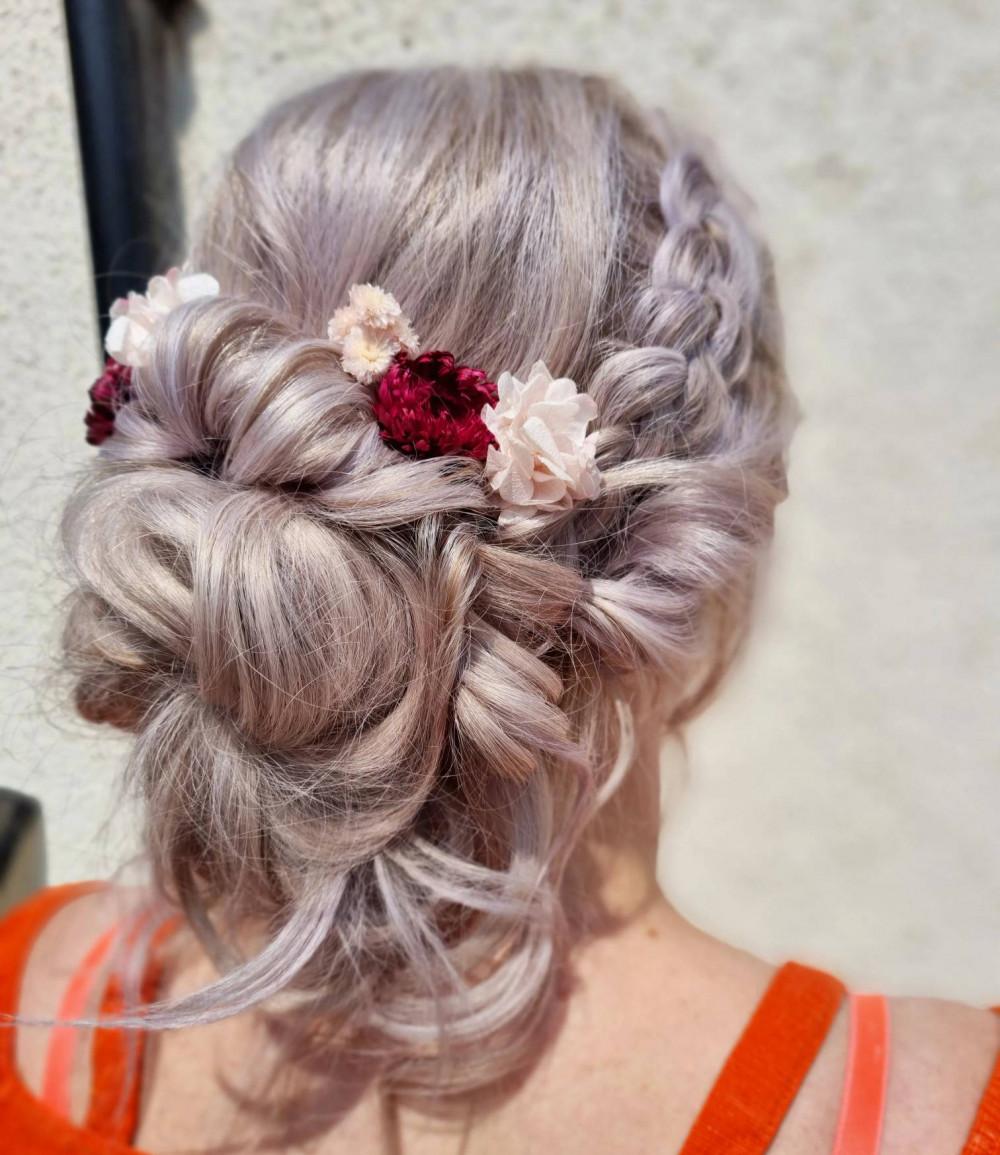 - Make Me Bridal Artist: Victoria Louise Bridal Hair. #bohemian #bohobride #bohowedding #bohohair