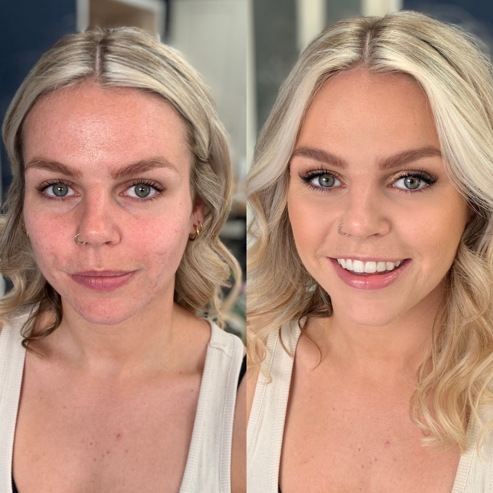 - Make Me Bridal Artist: Connie Childs Makeup. #bridesmaidmakeup #naturalglam #softglam