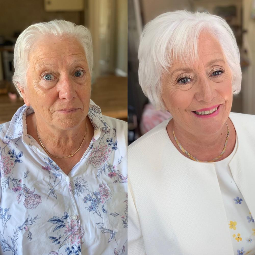 - Make Me Bridal Artist: Connie Childs Makeup. #motherofthebride #motherofthebridemakeup
