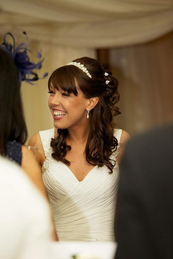 - Make Me Bridal Artist: Wedding hair by Tara.