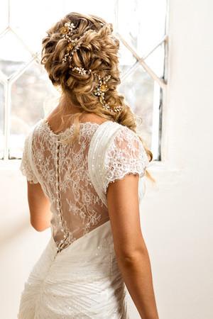 A stunning boho style with hair vine. - Make Me Bridal Artist: Wedding hair by Tara. Photography by: Phil jones photography. #bohemian #hairvine #bohobride #blondebride