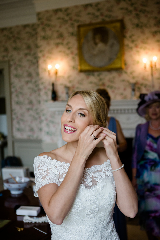 - Make Me Bridal Artist: Tara Sanger Makeup.