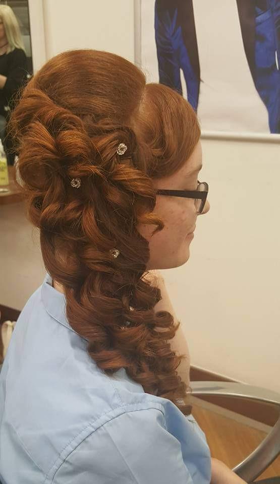 - Make Me Bridal Artist: Bridal hair by Sandra Ferneé. #vintage