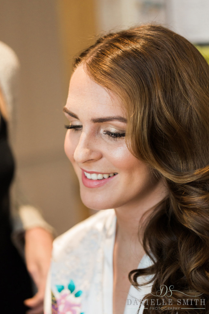 - Make Me Bridal Artist: Amy Jane Lawrence hair and makeup. Photography by: Danielle Smith photography.