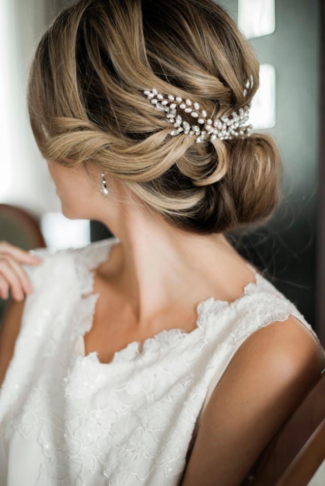 City wedding at The Sheraton Grand, London x - Make Me Bridal Artist: BEYOU Weddings hair & makeup. #hairup #romantic #chic #modernvintage