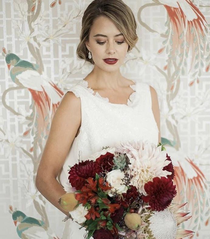- Make Me Bridal Artist: BEYOU Weddings hair & makeup. #bridalmakeup #boldlip #modernbride #classichair #chichair #classicmakeup