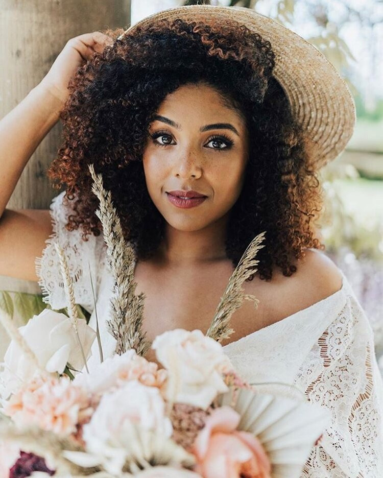 - Make Me Bridal Artist: BEYOU Weddings hair & makeup. Photography by: Rebecca Carpenter. #bridalmakeup #bridalmakeupartist #makeupinspo #mixedracebride #afrohair #beyouweddings