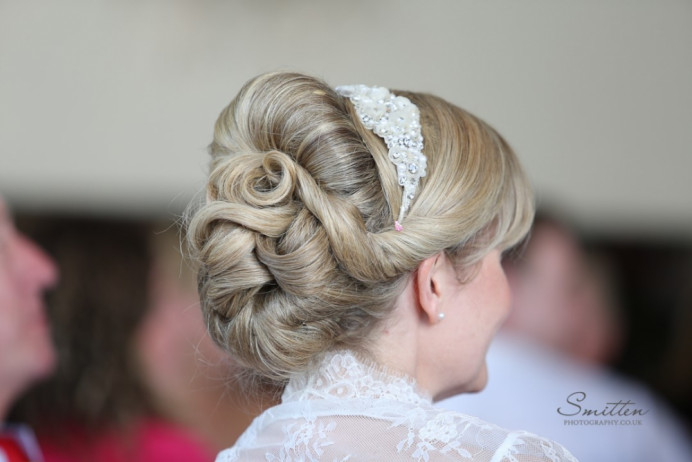 - Make Me Bridal Artist: Bridal Hair in Hampshire. Photography by: Smitten Photography. #classic #vintage #bridalhair #bridalhairstylist