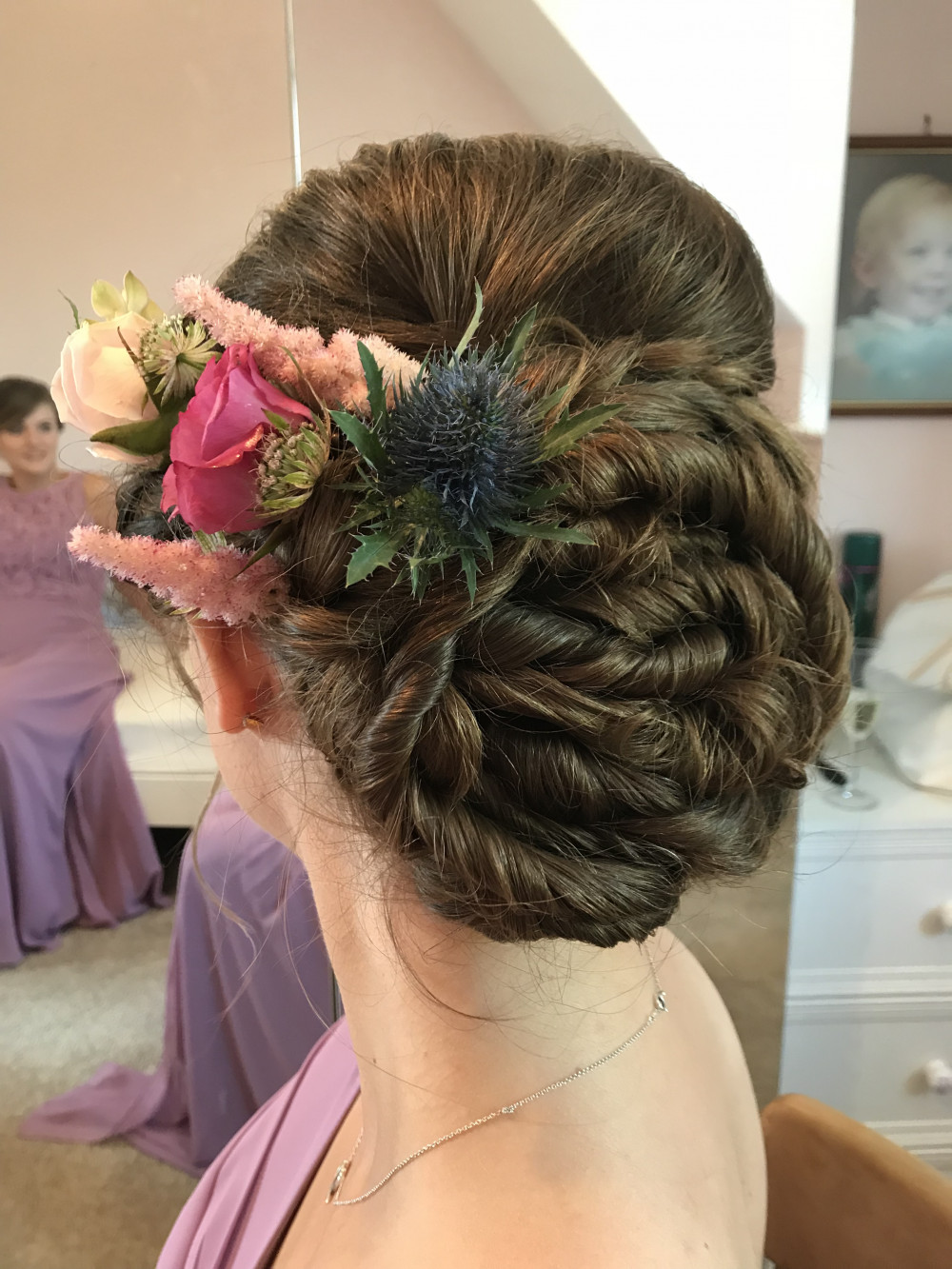 - Make Me Bridal Artist: Sapphire Styling hair and makeup .