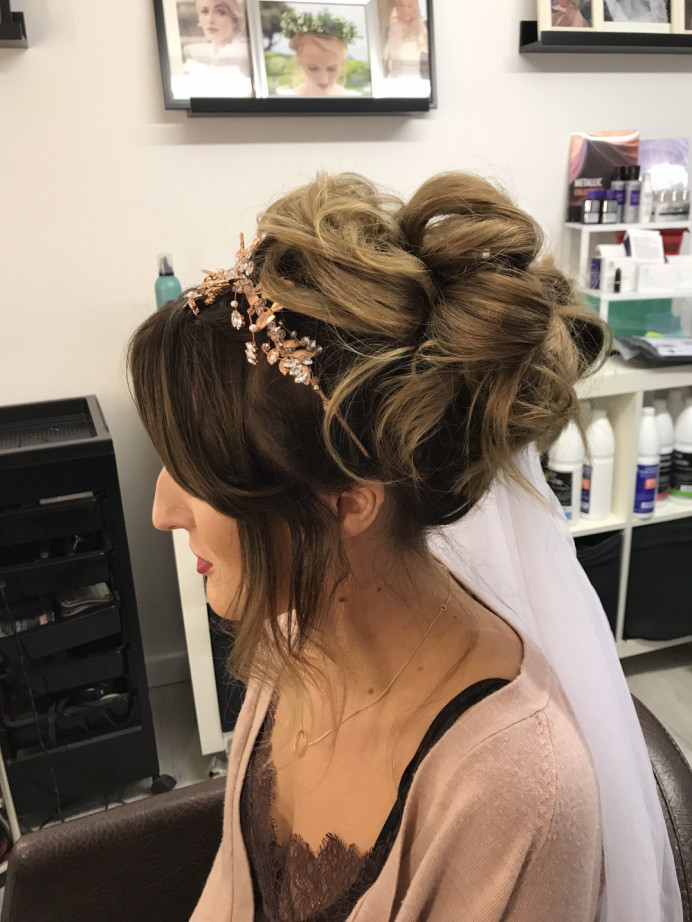 - Make Me Bridal Artist: Sapphire Styling hair and makeup . #updo