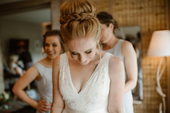 - Make Me Bridal Artist: Laura Anne Hair & Makeup Designer. Photography by: Ellie Gillard. #bridalmakeup #bridalhair #updo #hairup #plaits #definedmakeup #freshmakeup #redhair #trendybride #modernbride #highbun #londonbride #definedcheeks