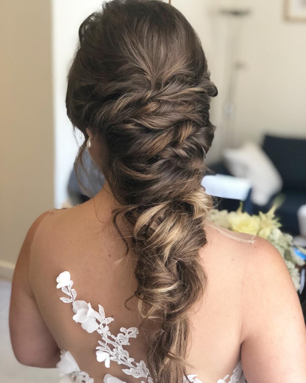 - Make Me Bridal Artist: Laura Anne Hair & Makeup Designer. #bridalhair #braid #bridesmaidhair #braidedupdo #weddinghair #plaits #bohohair #beachy #plaitupdo #bohemian