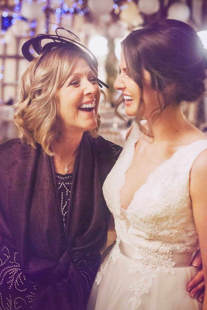 Mother and Daughter.... - Make Me Bridal Artist: Aston's Makeup and Beauty . #bridalmakeup #motherofthebride #winterweddingmakeup #motheranddaughter #bride