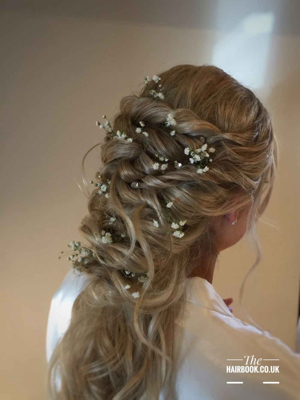 - Make Me Bridal Artist: The Hairbook. #bohemian #boho #flowercrown #halfuphair #curls #blonde #weddingmorning #elegant #hairup #fishtailbraid #loosecurls