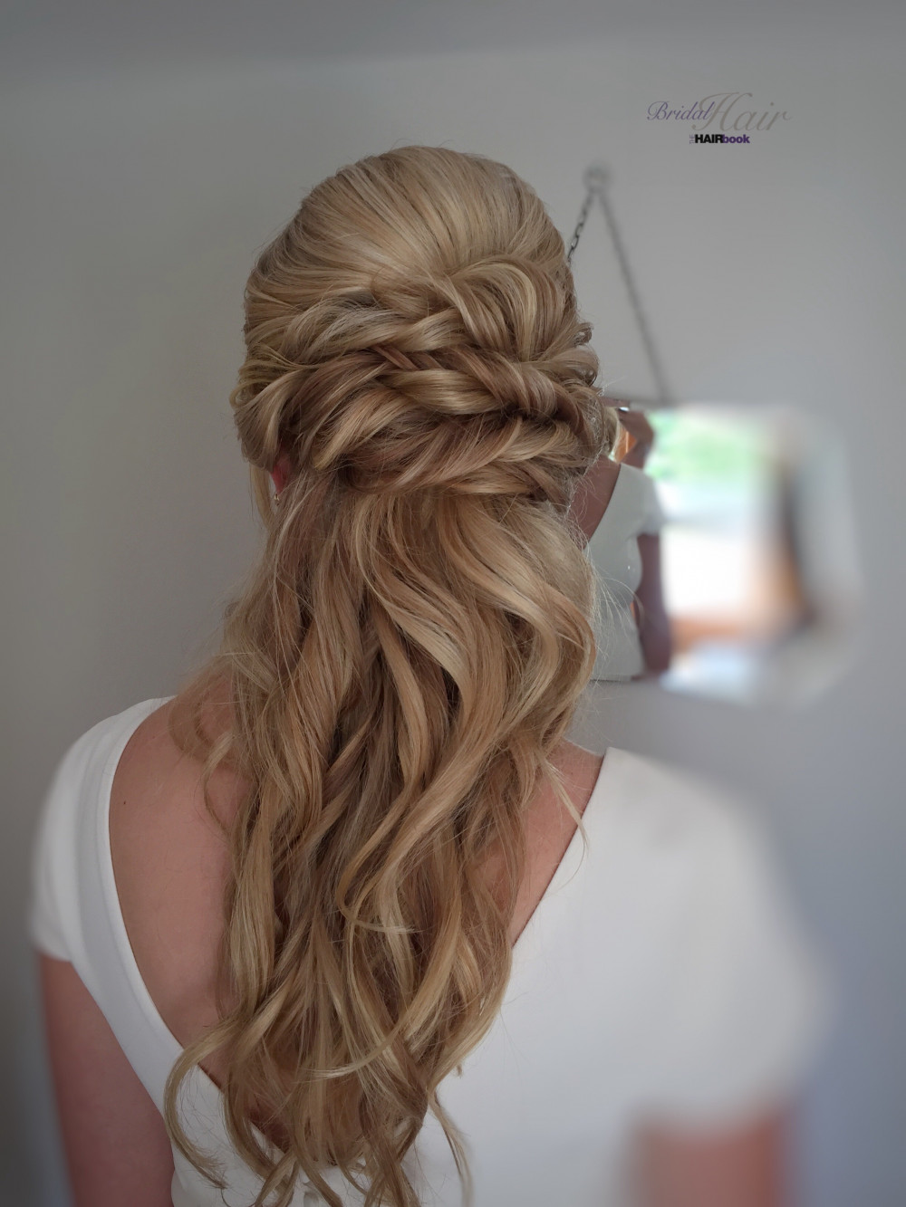 - Make Me Bridal Artist: The Hairbook. #bohemian #classic #vintage #glamorous #boho #halfuphair