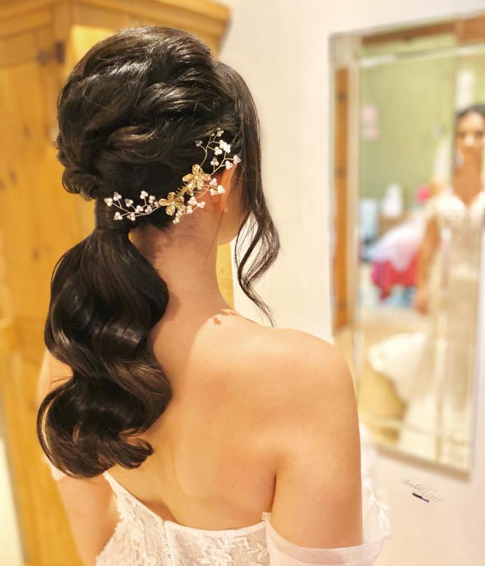 - Make Me Bridal Artist: The Hairbook. #bohemian #classic #glamorous #boho #weddingmorning #updo