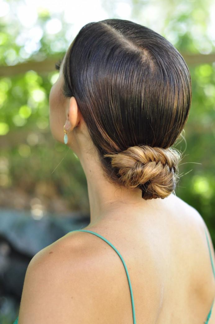 - Make Me Bridal Artist: Cheveux cimone. #updo #hairup #fishtailbraid #sleek #fishtail