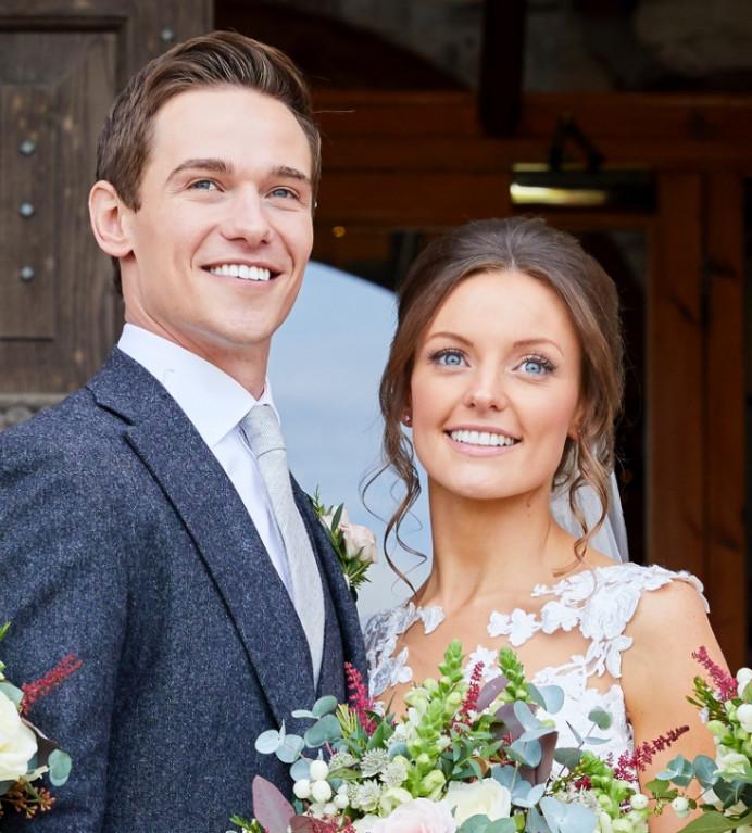 Gorgeous Chrissy and Tom summer 2017 at Lulworth Castle - Make Me Bridal Artist: Amazing Face Bridal Hair & Make up Dorset . Photography by: Dave wheeler photography . #classic #boho #naturalmakeup #dorsetmakeupartist #luxury