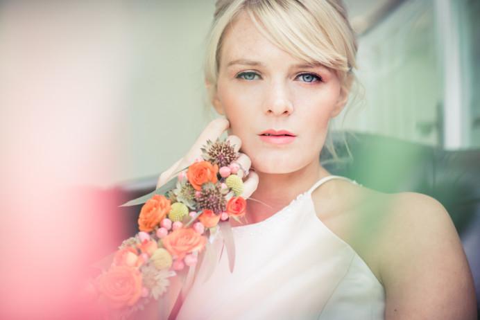 - Make Me Bridal Artist: Chrys Chapman. Photography by: Kathryn Widdowson. #classic #naturalmakeup #botanical #timeless
