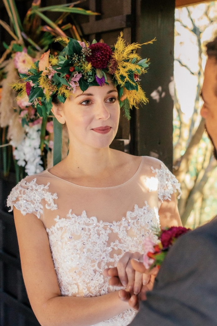 - Make Me Bridal Artist: Joanne Hook Makeup Artistry. Photography by: Vladana Parker. #bohemian #flowercrown #rustic #elegant #classic #bohobride #weddingmakeupsussex #brighton #bohowedding #sussexwedding