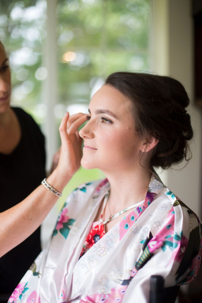 The gorgeous Torty got married in August 2017 in Felsted I'm Essex. She got ready with her huge bridal party at her parents home in the village.   Torty opted for a soft, natural look using soft creams and browns. - Make Me Bridal Artist: PosiTIVEYly Peachy Makeup, Beauty, Health . Photography by: Stephanie Nicole . #classic #weddingmorning #gettingready #bridalmakeup #meatwork #bridalmakeupartist