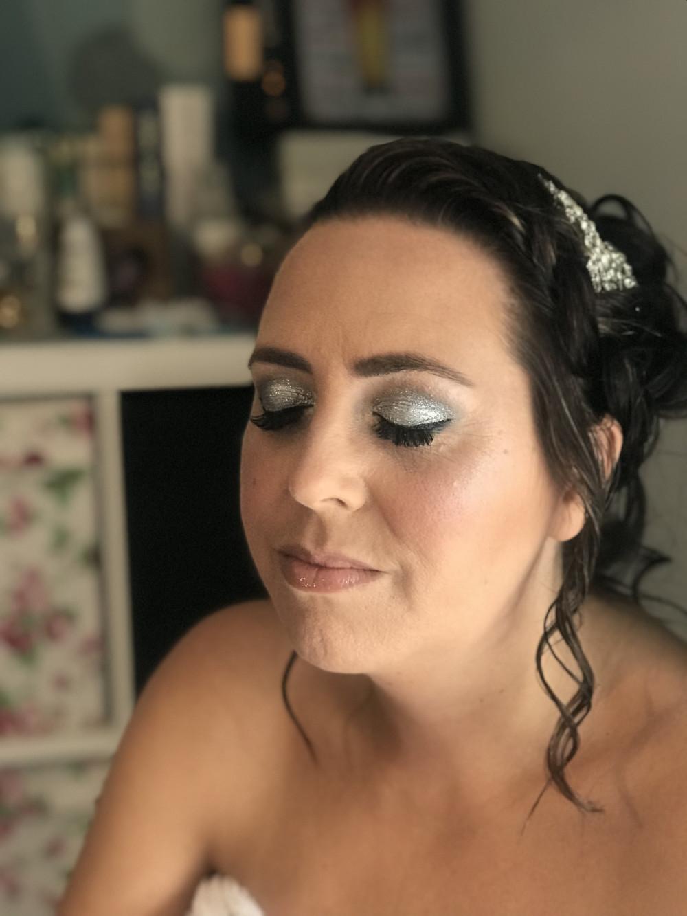 - Make Me Bridal Artist: PosiTIVEYly Peachy Makeup, Beauty, Health . #glamorous #weddingmorning #bridalmakeup #weddingmakeup #bridalmakeupartist #glittereyes #glittereyeshadow