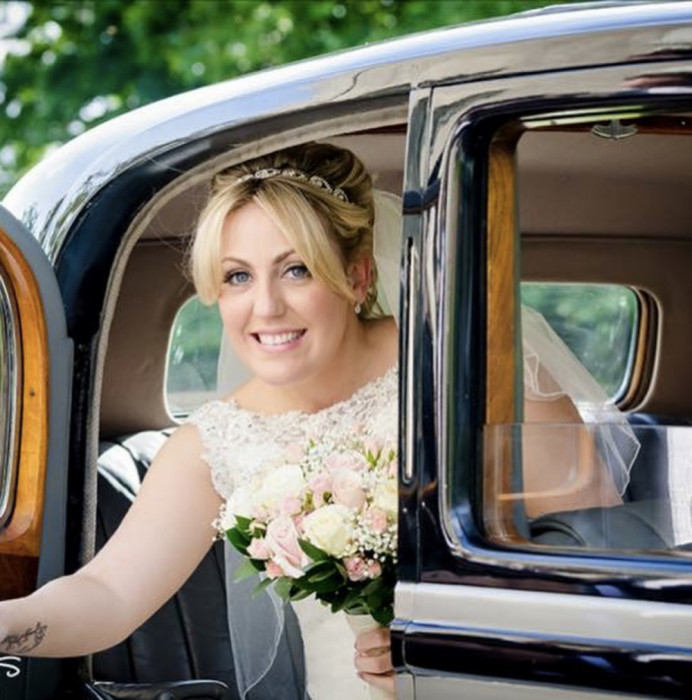 Kelly and Josh's Wedding - September 2015 at Fennes in Essex. - Make Me Bridal Artist: PosiTIVEYly Peachy Makeup, Beauty, Health . Photography by: Beckals Photography. #classic #bridalmakeup #roselip #prettymakeup #flawlessskin