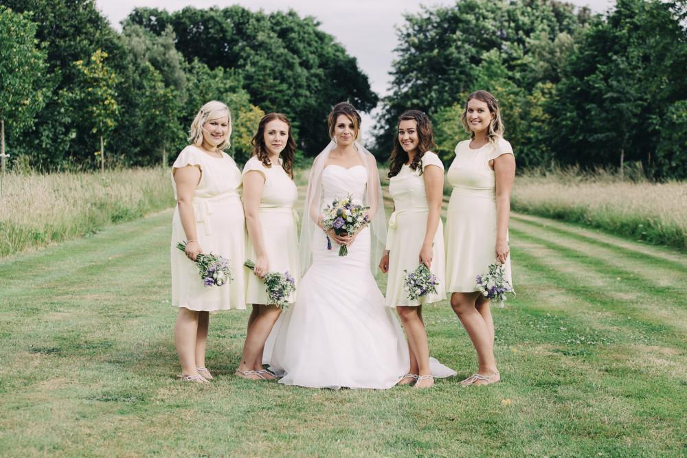 Beautiful Bride tribe ???????? Hair by Victoria - Make Me Bridal Artist: Swaffields Lilliput hair salon . Photography by: Liza Edgington. #realbride #bridesmaidcurls #bridesmaidplait #bridetribe