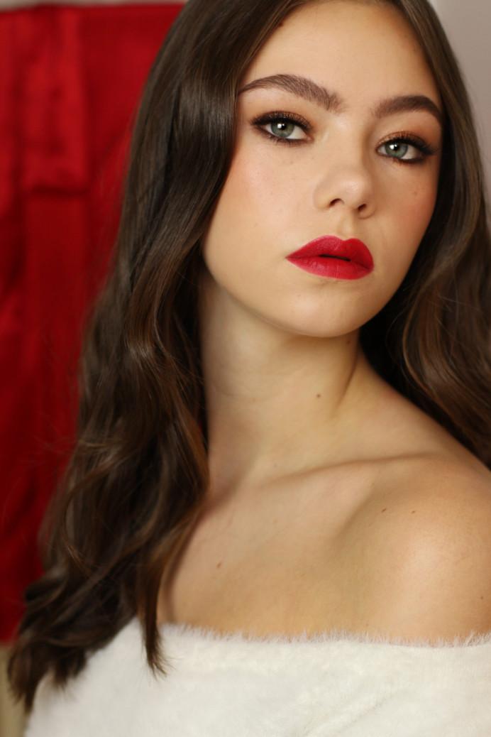 - Make Me Bridal Artist: Rachel Lindsey MUA. Photography by: Me. #vintage #redlip #flawlessmakeup #oldhollywood #hollywoodglamour