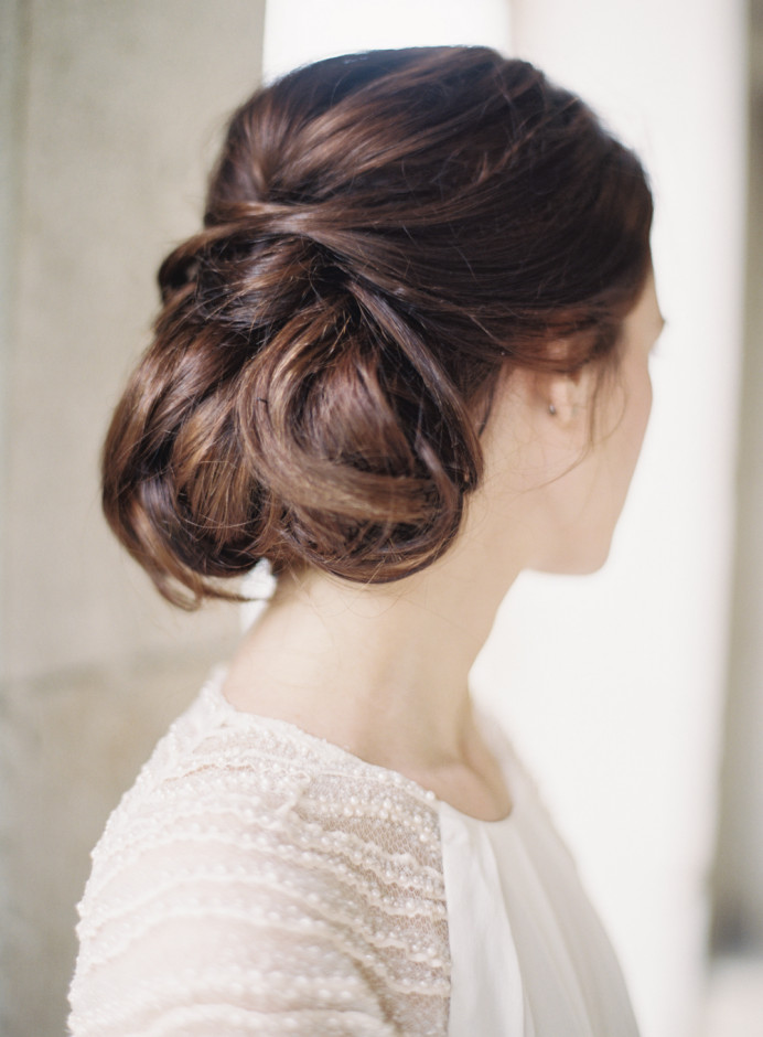 - Make Me Bridal Artist: Aridal Makeup & Hair. #updo #chignon #romantic #classic