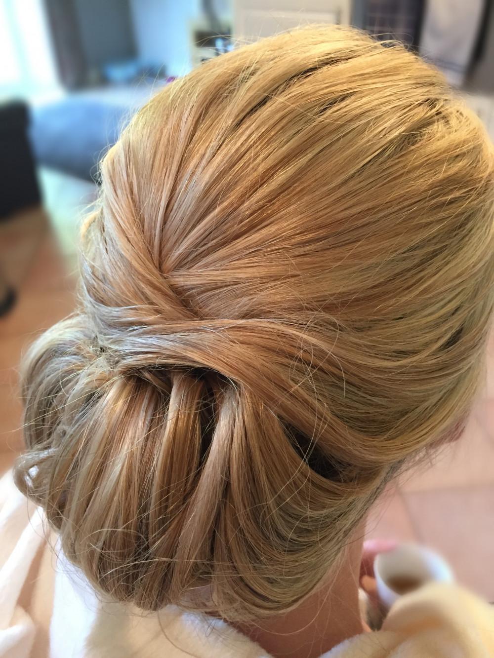 Super Chic - Make Me Bridal Artist: Kent Bridal Hair.