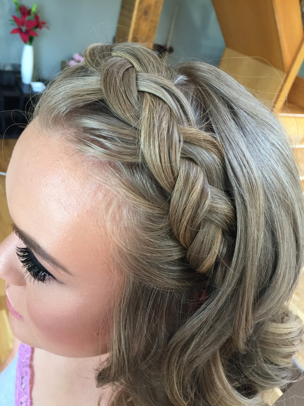 Crown Braid - Make Me Bridal Artist: Kent Bridal Hair.