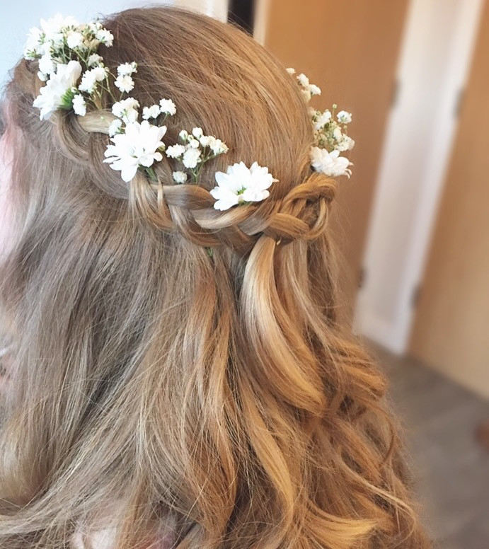 Another Boho favourite - Make Me Bridal Artist: Kent Bridal Hair.