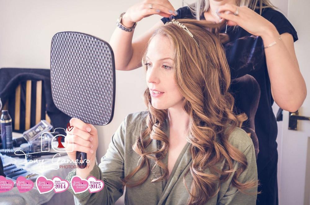 Gorgeous Curls  - Make Me Bridal Artist: Kent Bridal Hair.