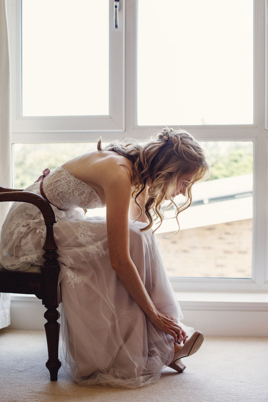 Beautiful natural hair and makeup - Make Me Bridal Artist: Flaming Bride. #classic #naturalmakeup #blonde