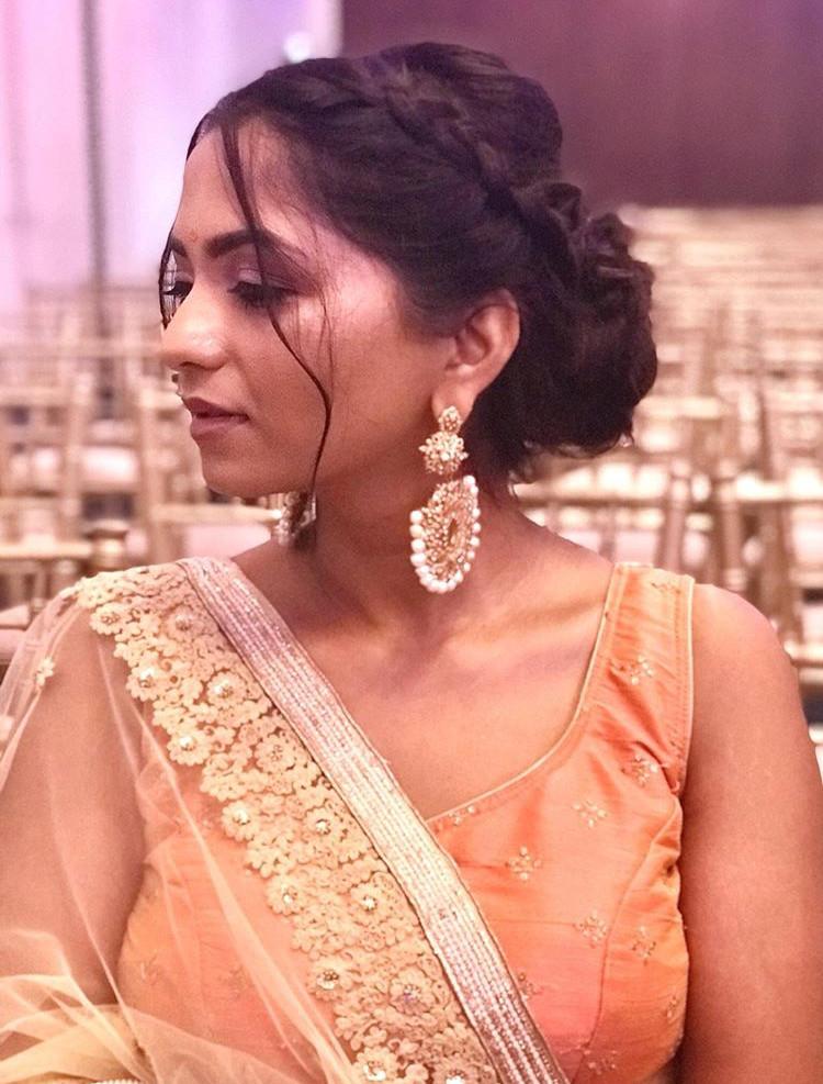Beautiful wedding guest hair and makeup - Make Me Bridal Artist: Ewelina Kaminska . #glamorous #weddingguests #indianwedding #wow