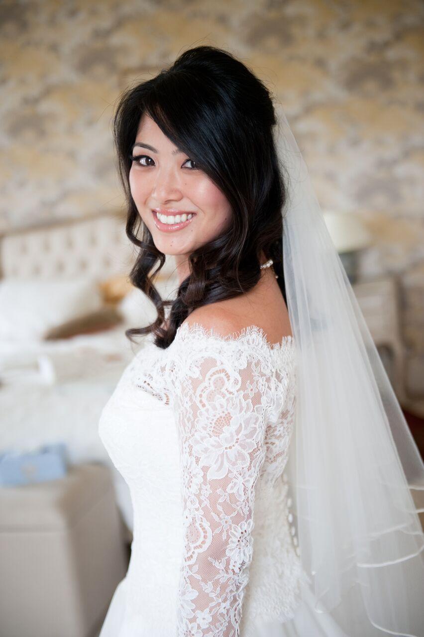 Beautiful Bride Catherine who married at Hinwick House - Make Me Bridal Artist: Niki Lawrence Professional Makeup Artist. Photography by: Rachel Connerton. #bridalhairandmakeup #weddinghairandmakeup #bridalmakeup #weddingmakeup #weddinghair #hinwickhouse