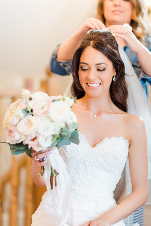 Beautiful Bride Rachel at Bassmead Manor Barns - Make Me Bridal Artist: Niki Lawrence Professional Makeup Artist. Photography by: Lauren. #bridalmakeup #weddingmakeup #bassmeadmanorbarns #naturalmakeupartist