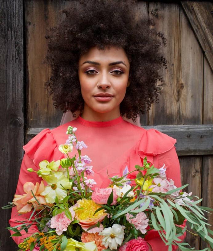 - Make Me Bridal Artist: Joyce Connor Make Up. #bohemian #bridalmakeup #weddingmakeup #alternative #afrohair